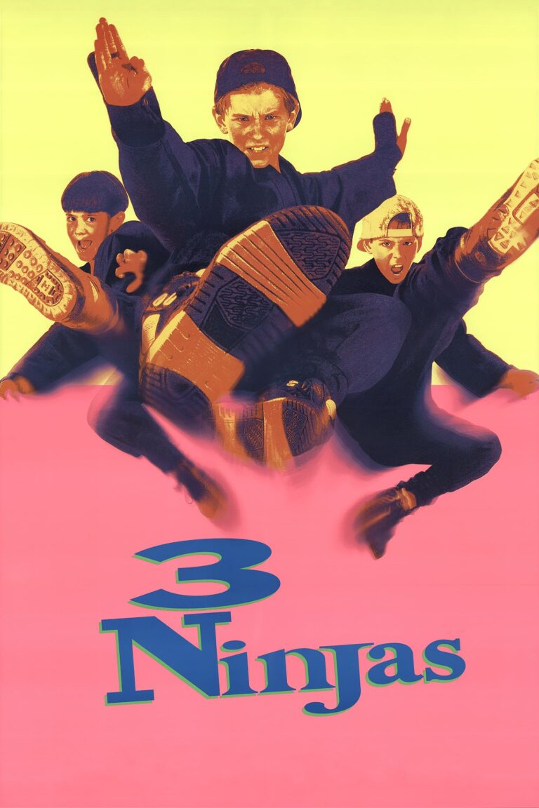 """Poster for the movie """"3 Ninjas"""""""