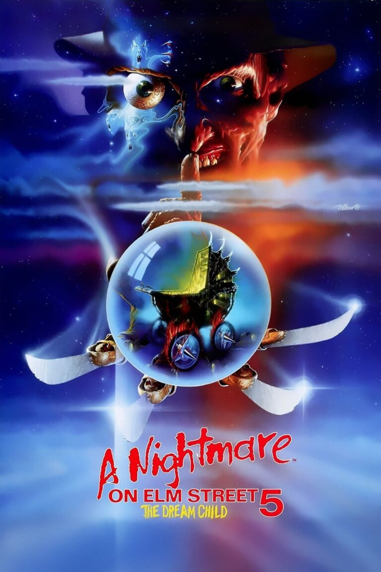 """Poster for the movie """"A Nightmare on Elm Street: The Dream Child"""""""