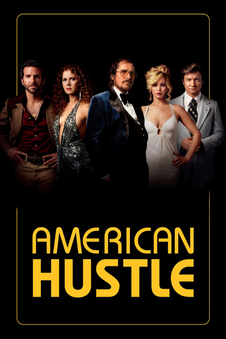 """Poster for the movie """"American Hustle"""""""