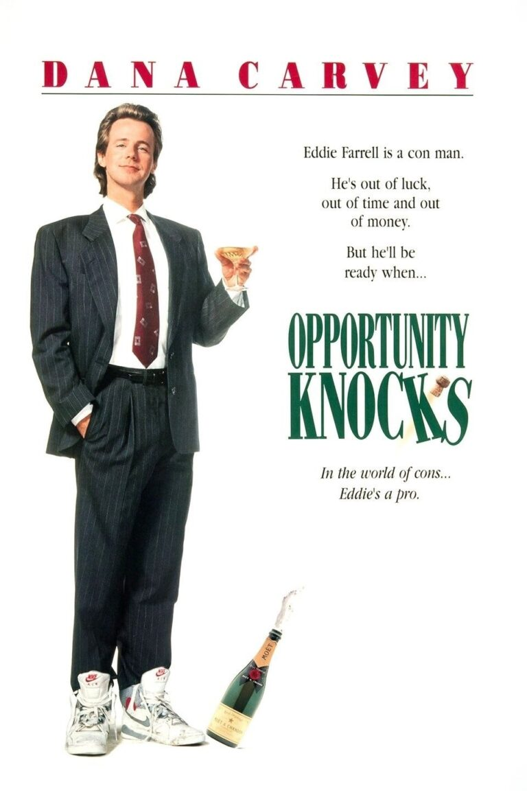 """Poster for the movie """"Opportunity Knocks"""""""