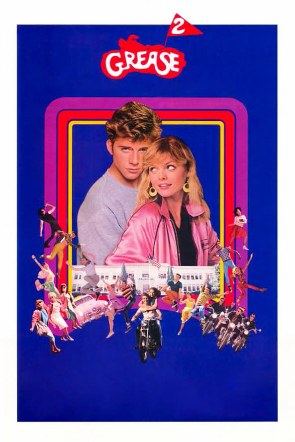 """Poster for the movie """"Grease 2"""""""
