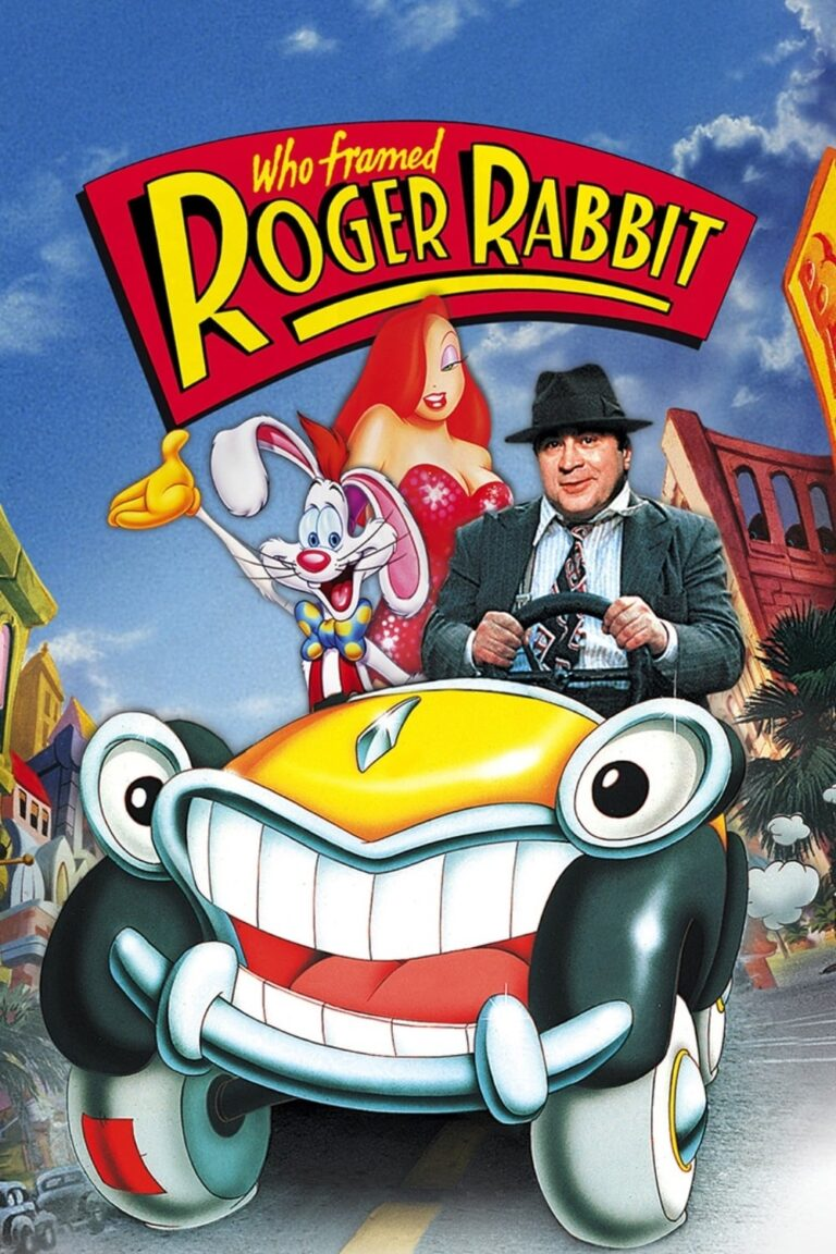 "Poster for the movie ""Who Framed Roger Rabbit"""
