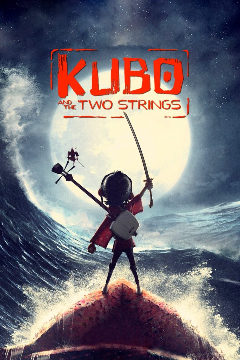 """Poster for the movie """"Kubo and the Two Strings"""""""