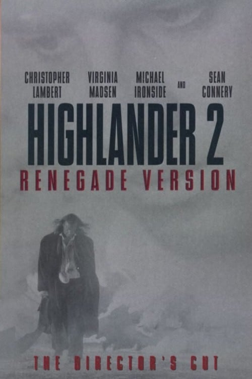 """Poster for the movie """"Highlander 2: The Quickening"""""""