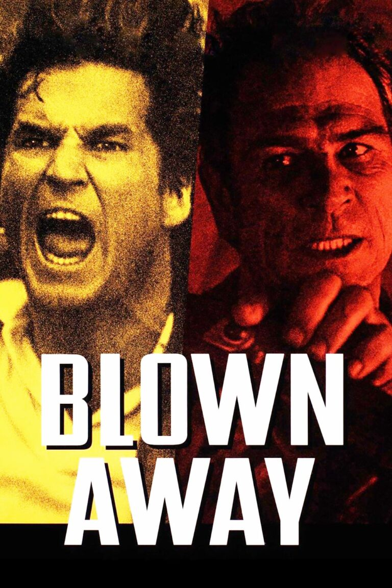 """Poster for the movie """"Blown Away"""""""