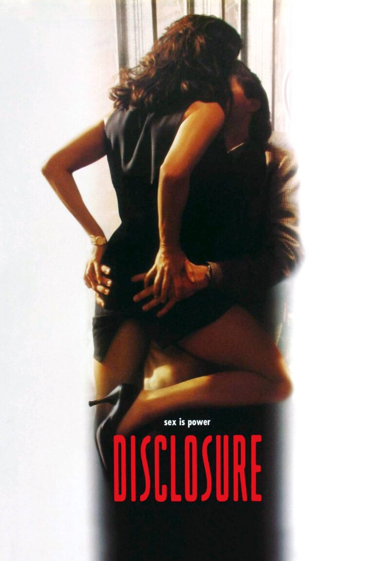 "Poster for the movie ""Disclosure"""