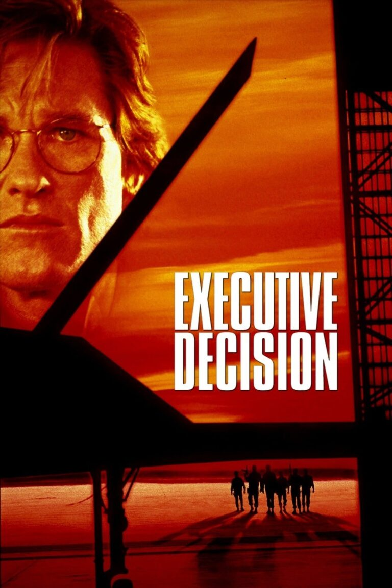 """Poster for the movie """"Executive Decision"""""""
