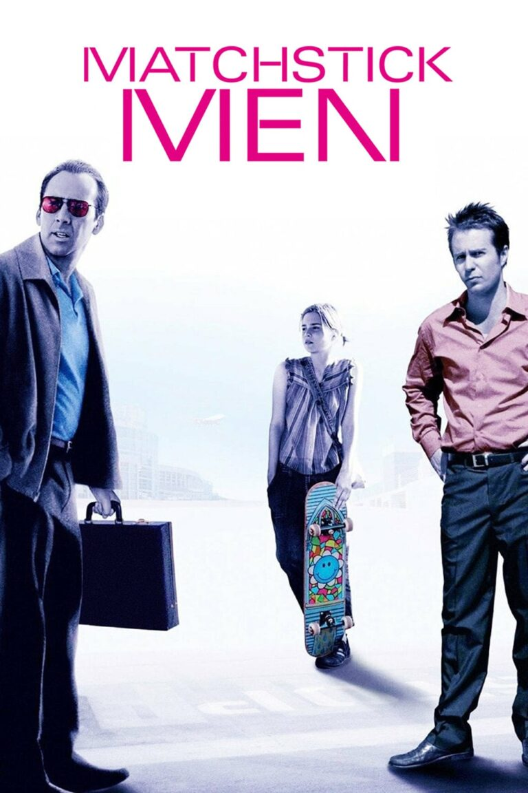 """Poster for the movie """"Matchstick Men"""""""