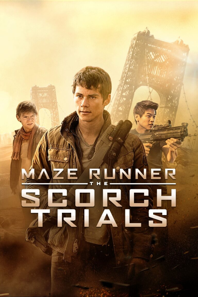 """Poster for the movie """"Maze Runner: The Scorch Trials"""""""