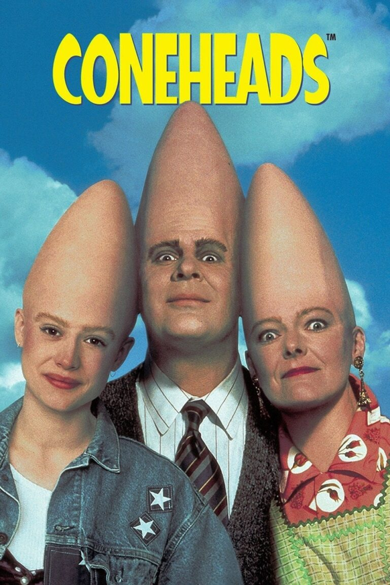 "Poster for the movie ""Coneheads"""