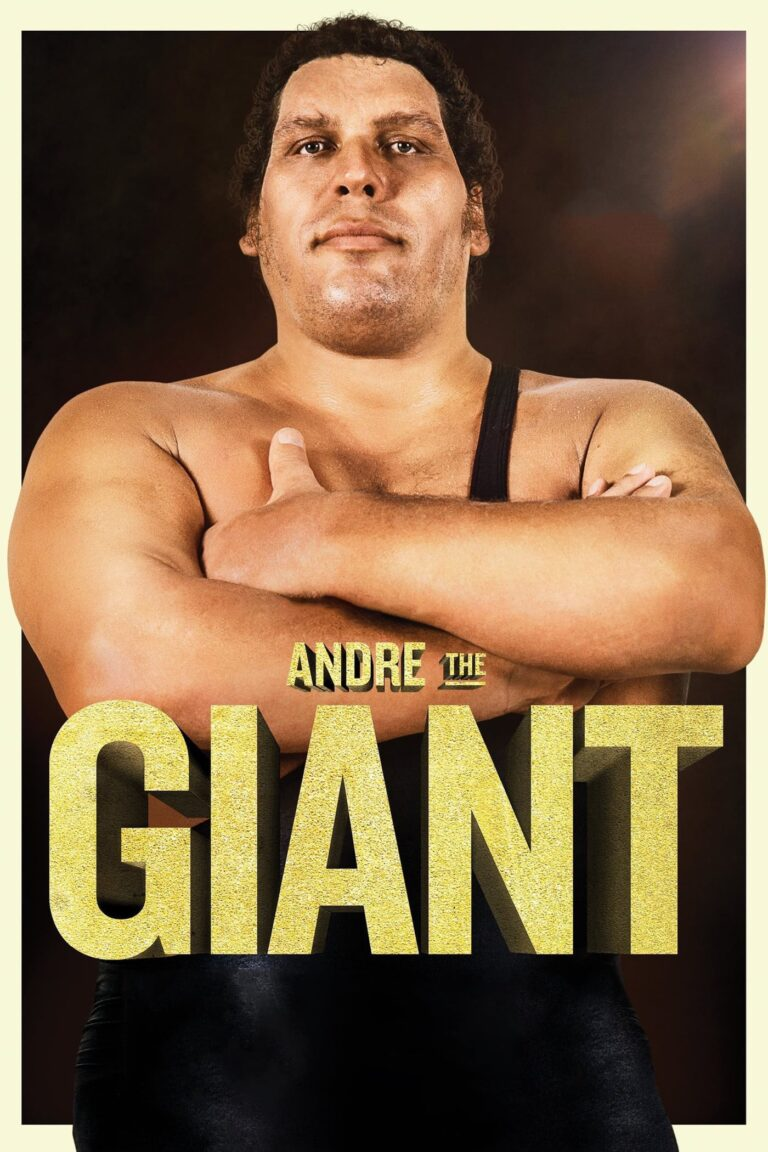 """Poster for the movie """"Andre the Giant"""""""