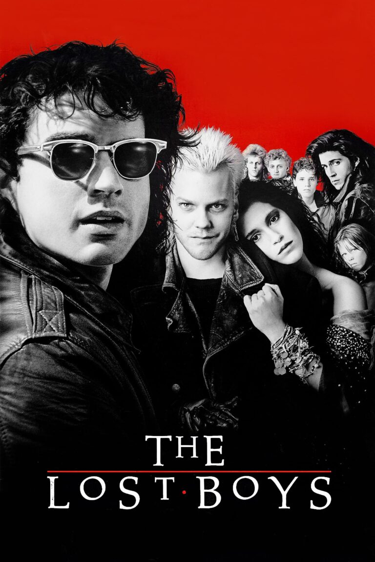"""Poster for the movie """"The Lost Boys"""""""