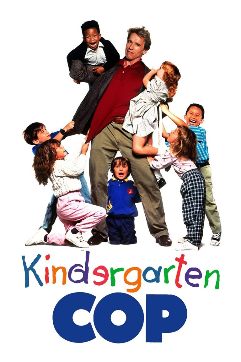"Poster for the movie ""Kindergarten Cop"""