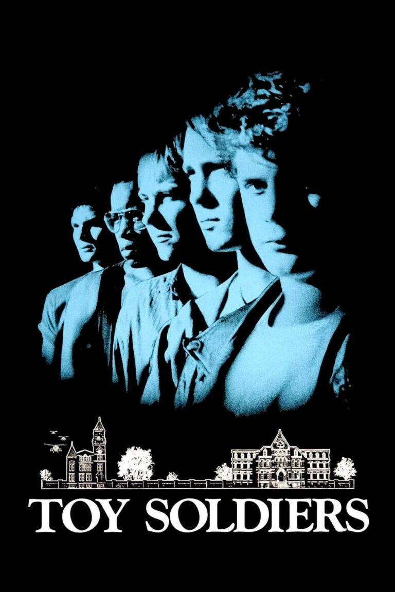 """Poster for the movie """"Toy Soldiers"""""""