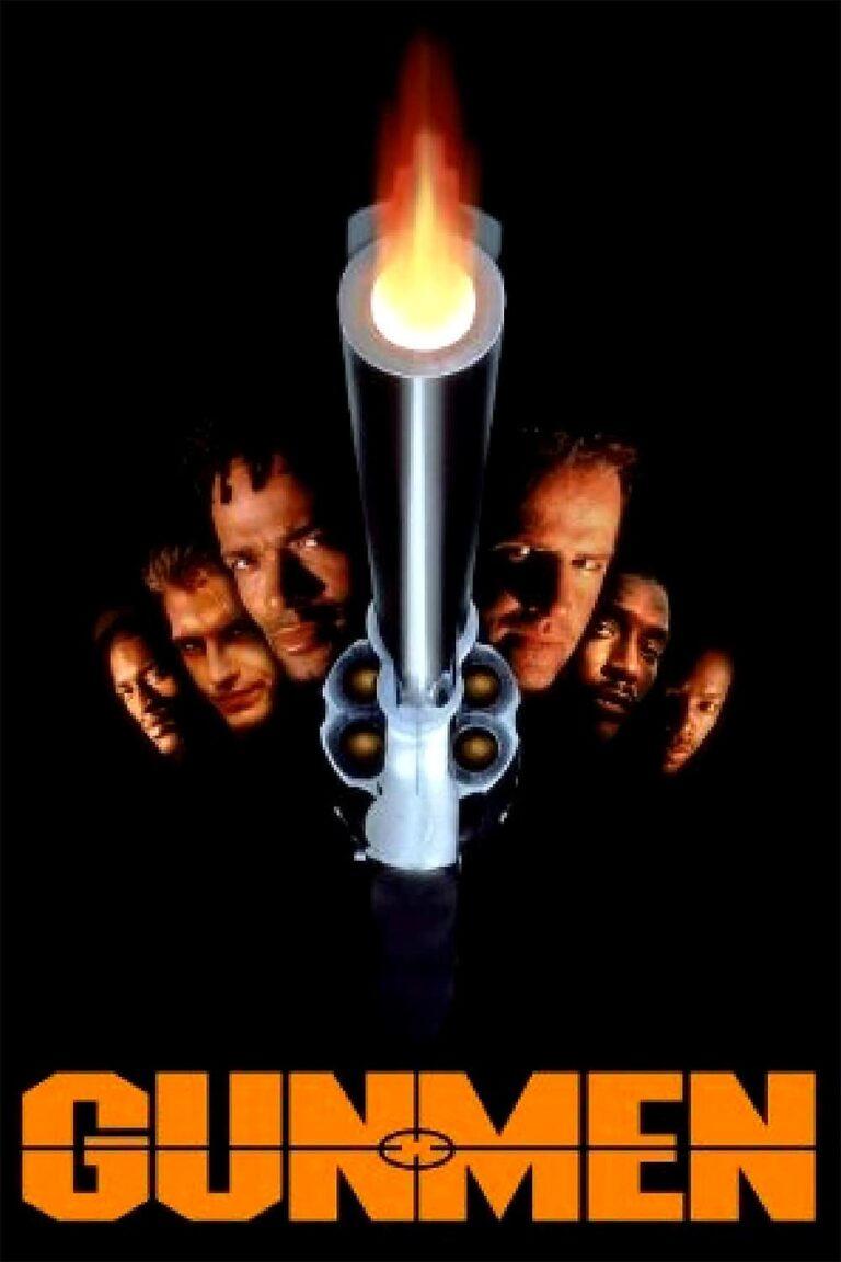 """Poster for the movie """"Gunmen"""""""