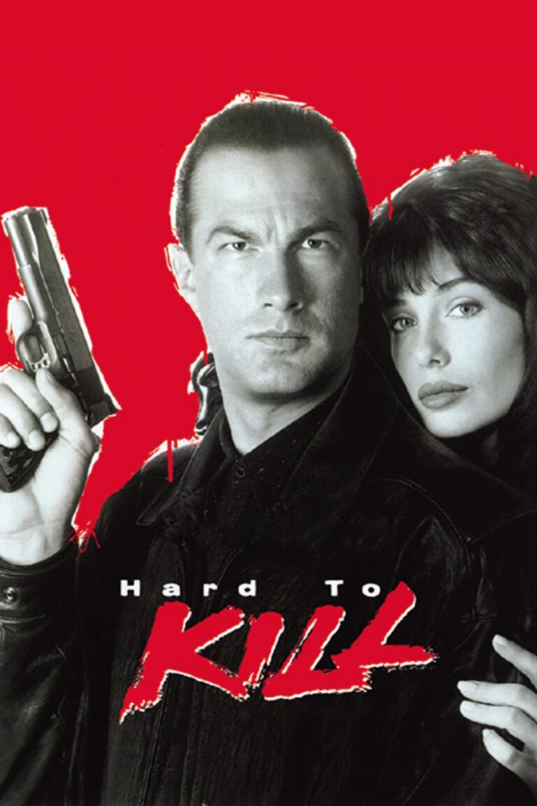 """Poster for the movie """"Hard to Kill"""""""