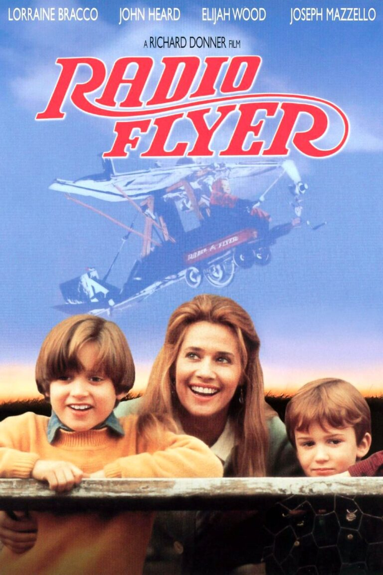 """Poster for the movie """"Radio Flyer"""""""