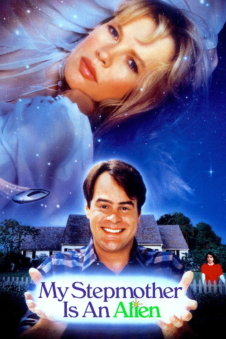 """Poster for the movie """"My Stepmother is an Alien"""""""