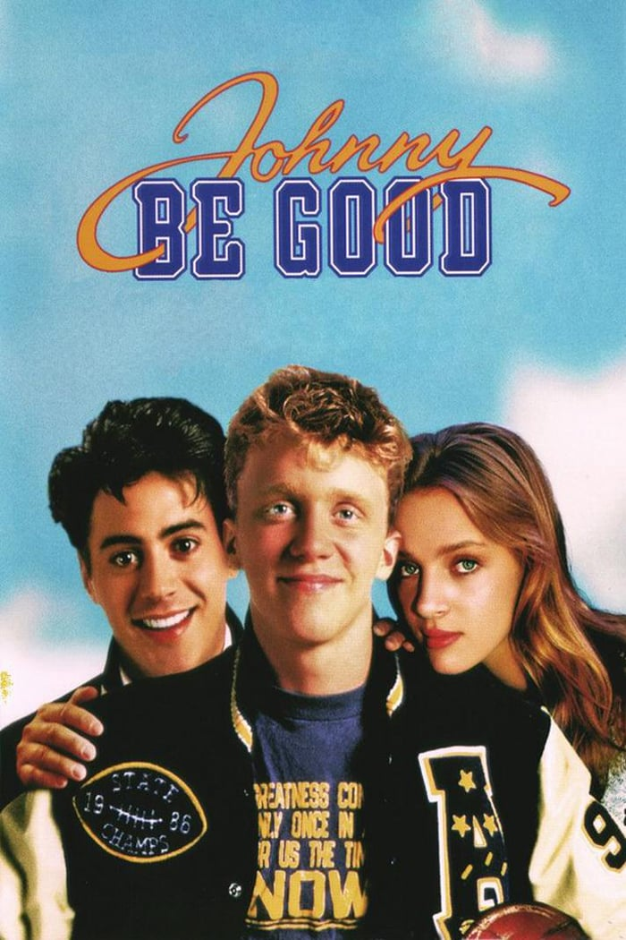 """Poster for the movie """"Johnny Be Good"""""""