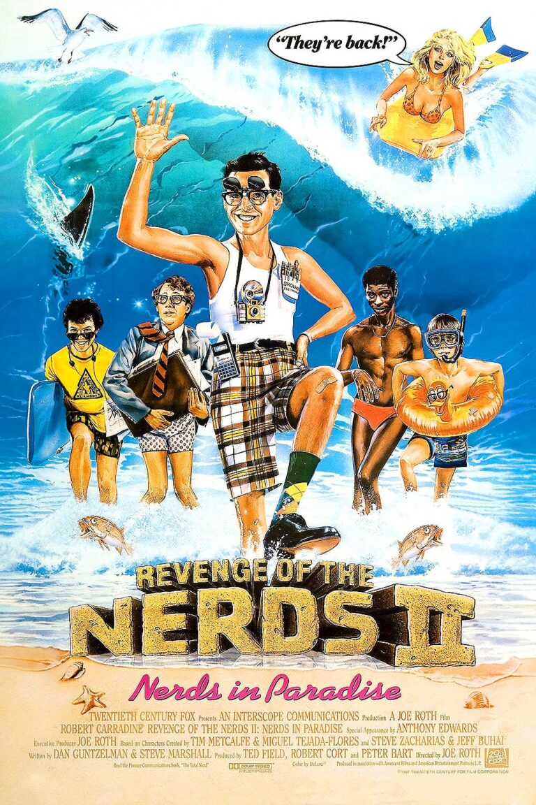 """Poster for the movie """"Revenge of the Nerds II: Nerds in Paradise"""""""