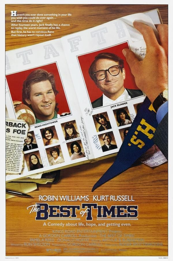 """Poster for the movie """"The Best of Times"""""""