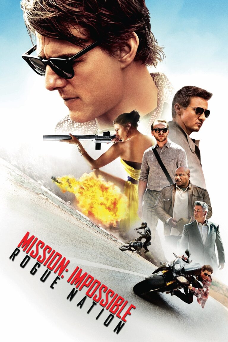 """Poster for the movie """"Mission: Impossible - Rogue Nation"""""""