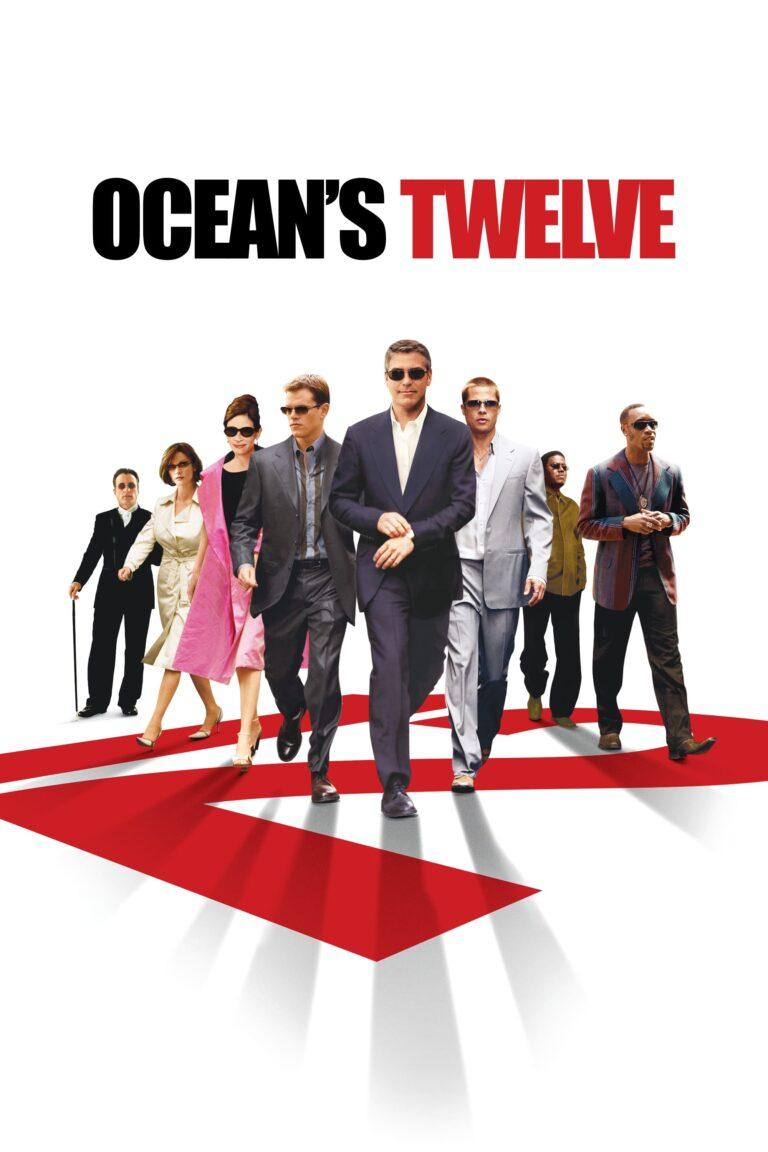 "Poster for the movie ""Ocean's Twelve"""