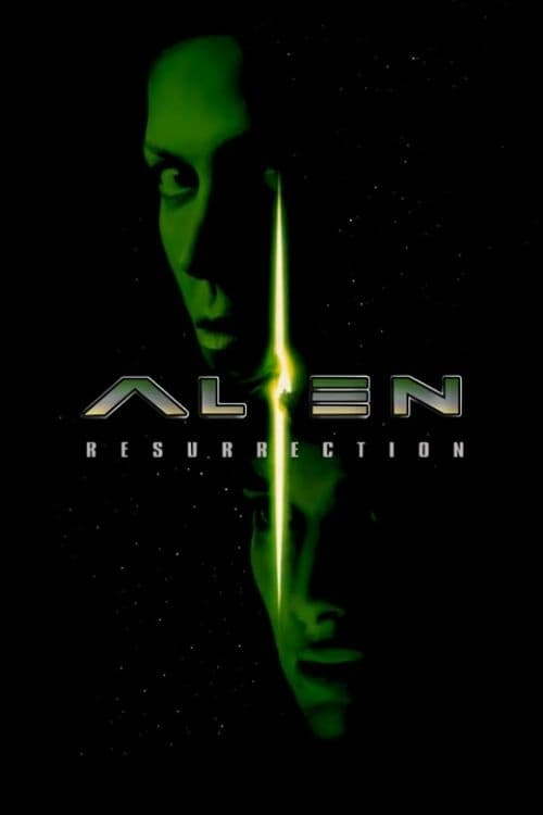 "Poster for the movie ""Alien Resurrection"""