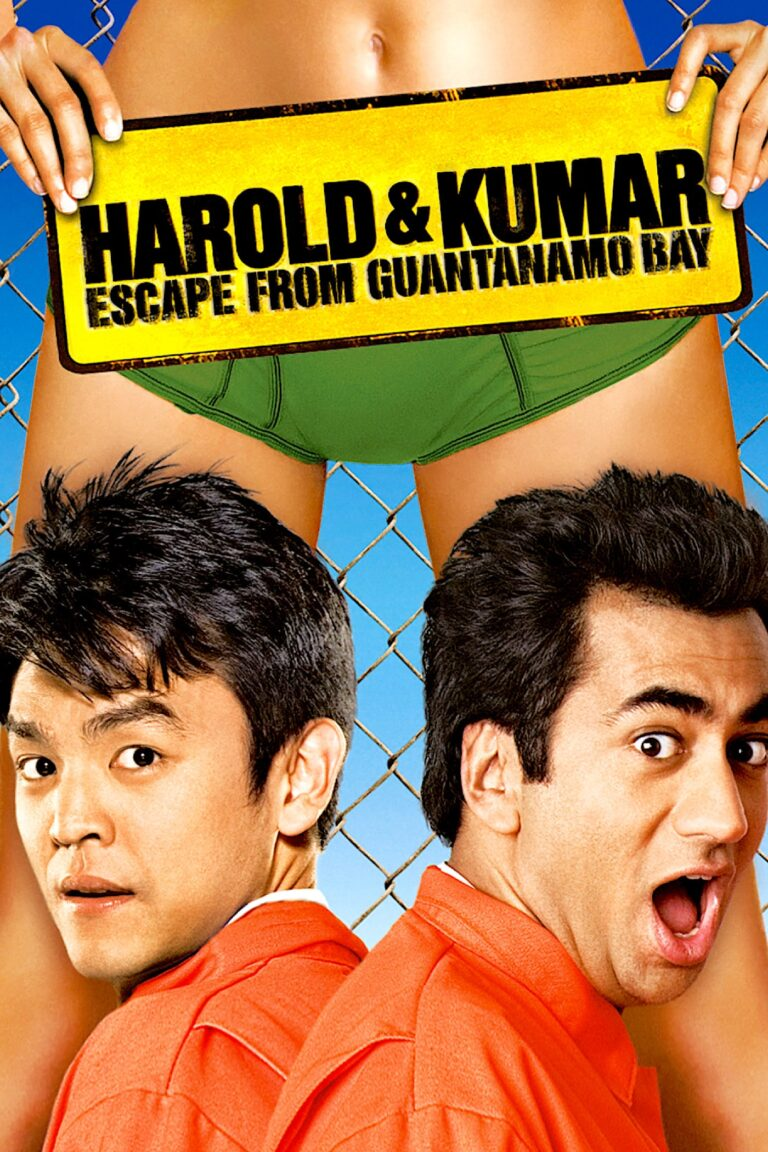 """Poster for the movie """"Harold & Kumar Escape from Guantanamo Bay"""""""