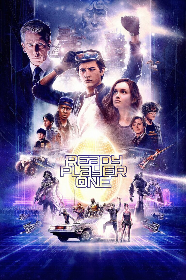 """Poster for the movie """"Ready Player One"""""""