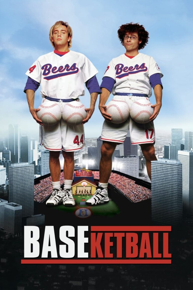 """Poster for the movie """"BASEketball"""""""