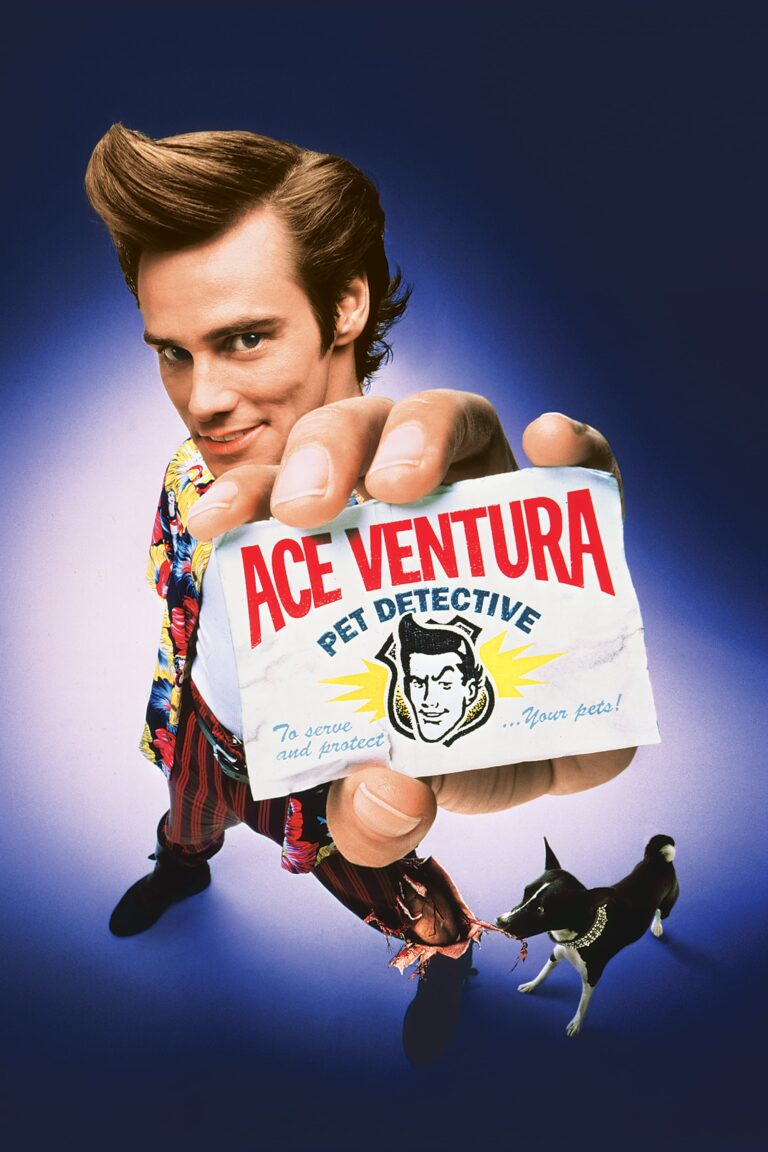 """Poster for the movie """"Ace Ventura: Pet Detective"""""""