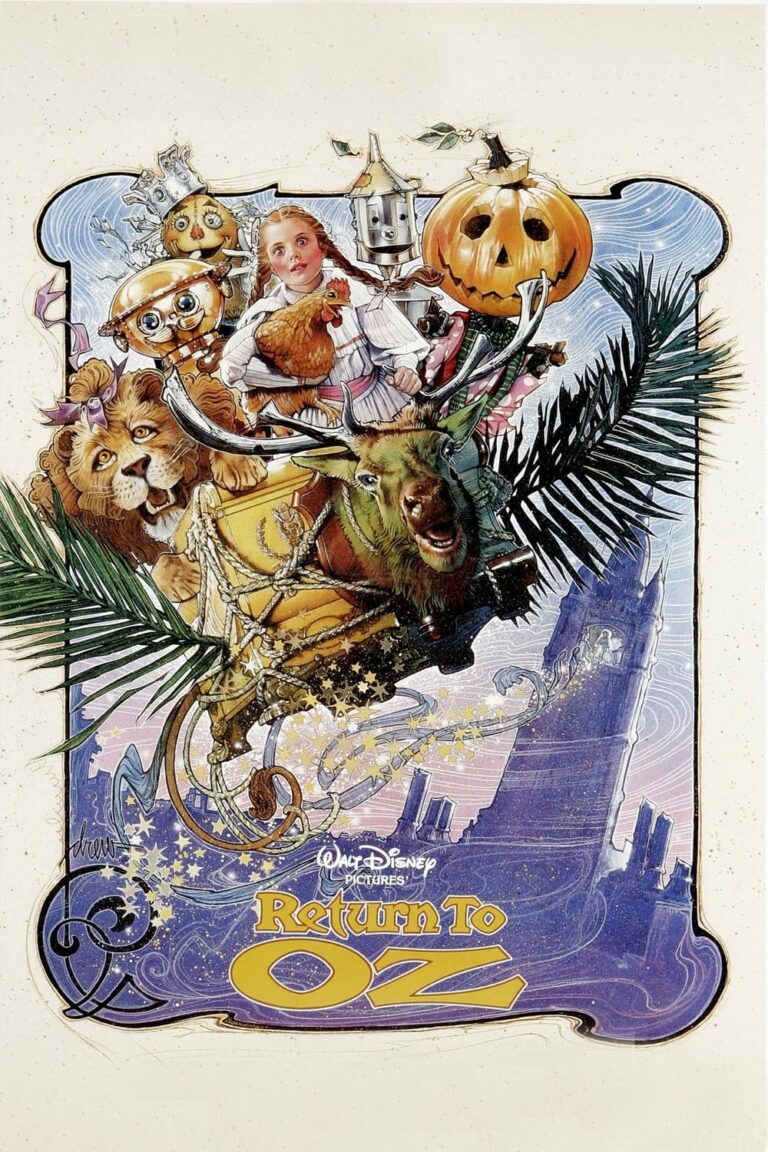 "Poster for the movie ""Return to Oz"""