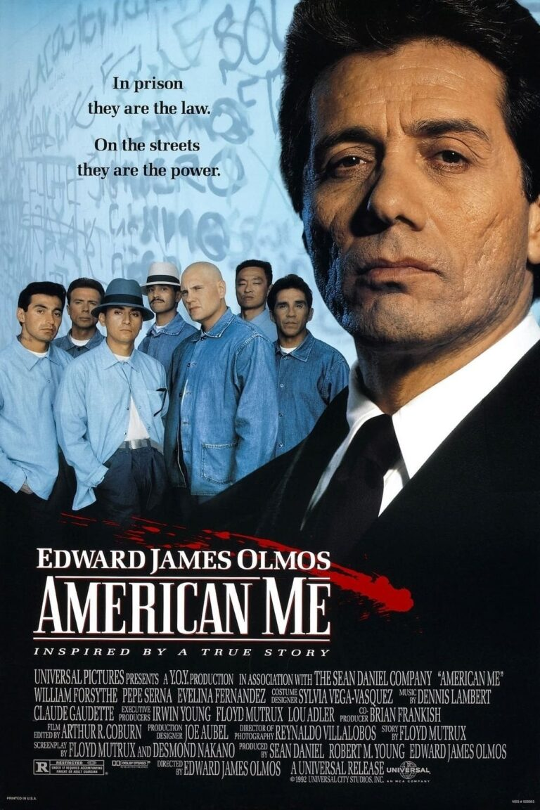 """Poster for the movie """"American Me"""""""