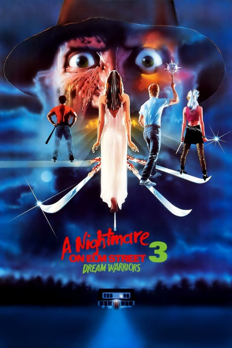 """Poster for the movie """"A Nightmare on Elm Street 3: Dream Warriors"""""""
