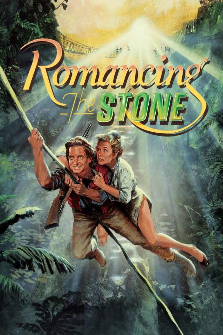 """Poster for the movie """"Romancing the Stone"""""""