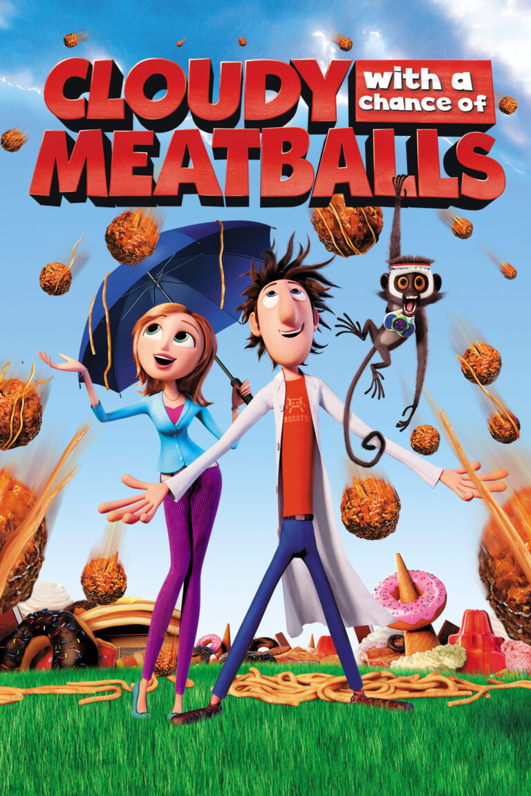 """Poster for the movie """"Cloudy with a Chance of Meatballs"""""""