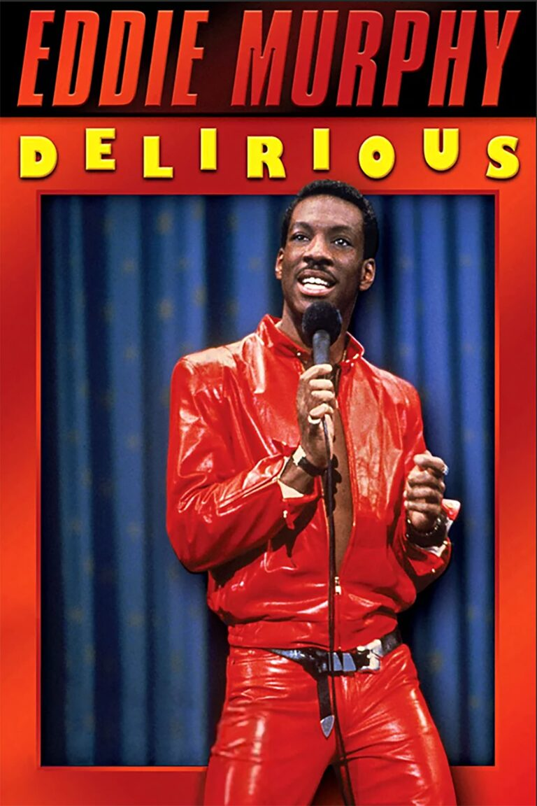 """Poster for the movie """"Eddie Murphy: Delirious"""""""