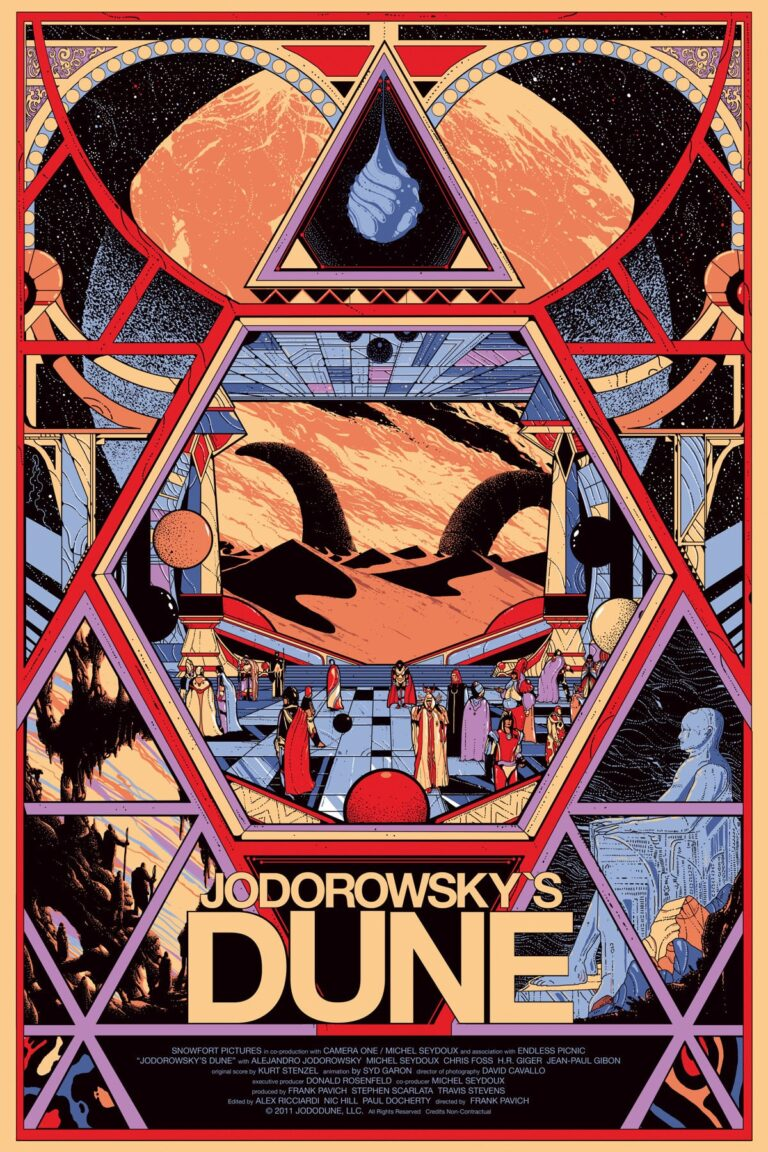 "Poster for the movie ""Jodorowsky's Dune"""