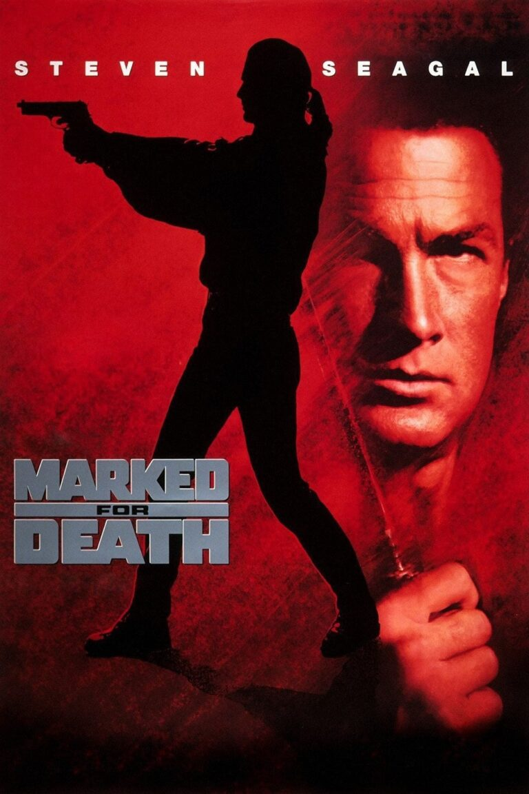 """Poster for the movie """"Marked for Death"""""""