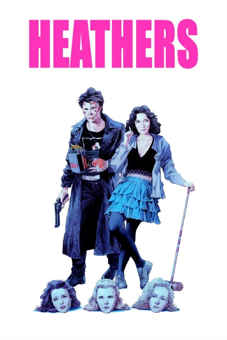 """Poster for the movie """"Heathers"""""""