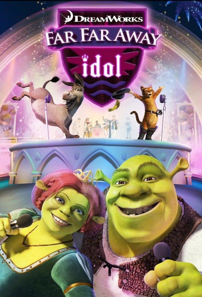 "Poster for the movie ""Far Far Away Idol"""