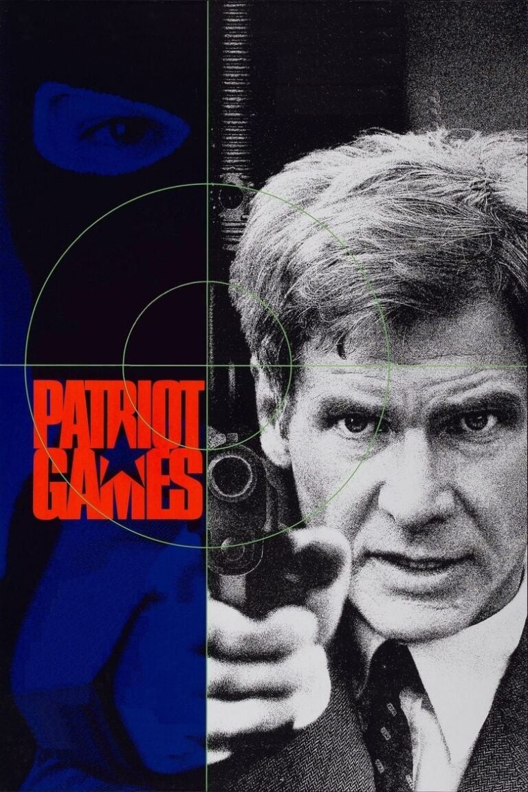 """Poster for the movie """"Patriot Games"""""""