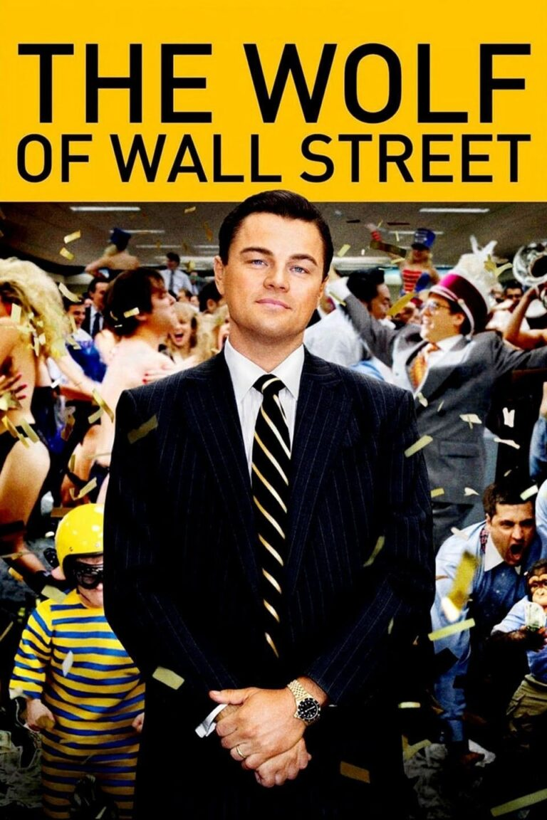 """Poster for the movie """"The Wolf of Wall Street"""""""