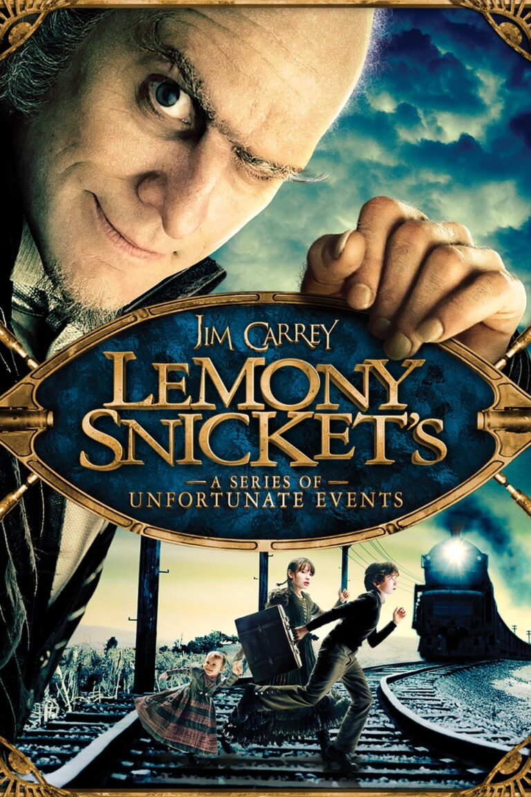 """Poster for the movie """"Lemony Snicket's A Series of Unfortunate Events"""""""