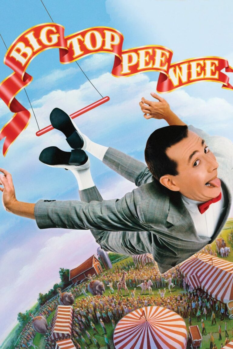 """Poster for the movie """"Big Top Pee-wee"""""""