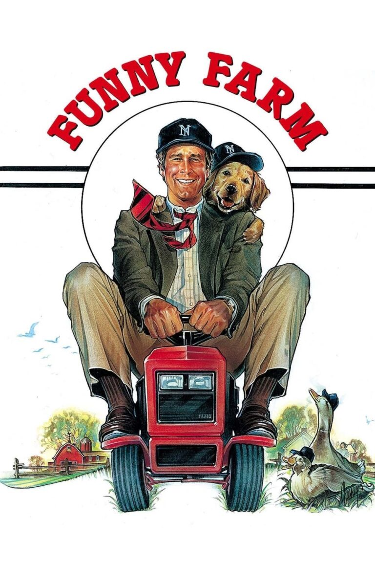 """Poster for the movie """"Funny Farm"""""""