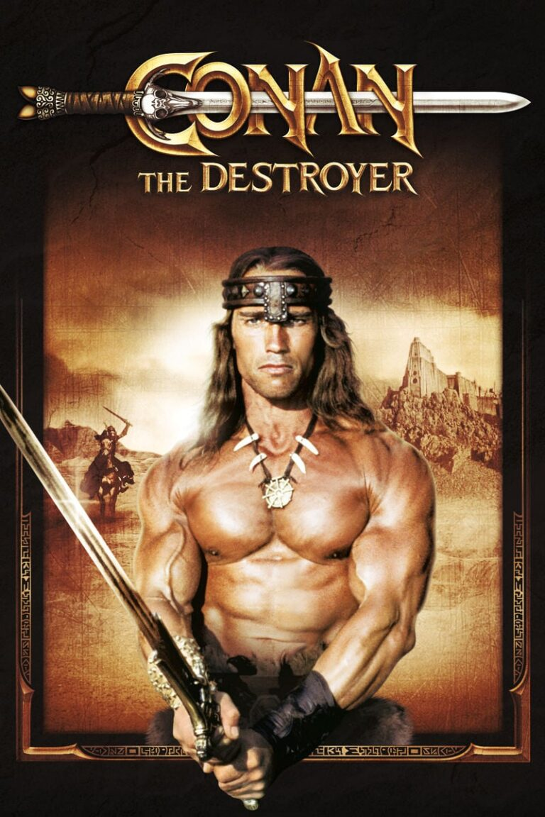 "Poster for the movie ""Conan the Destroyer"""