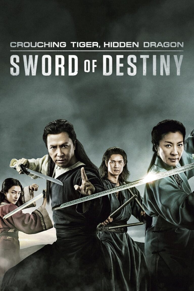 """Poster for the movie """"Crouching Tiger, Hidden Dragon: Sword of Destiny"""""""