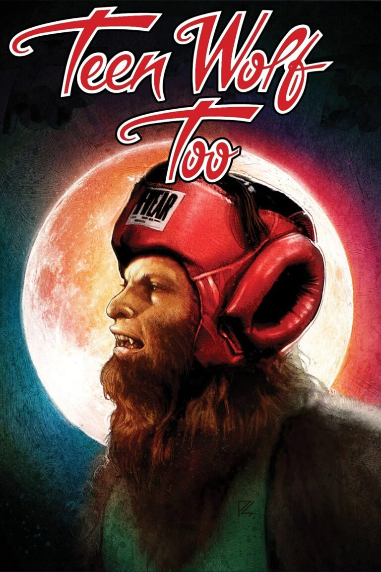 """Poster for the movie """"Teen Wolf Too"""""""